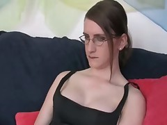 girl sucks a tranny