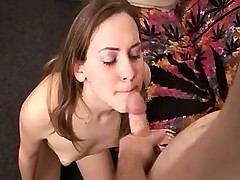 TS JUST WANTS CUM IN HER MOUTH