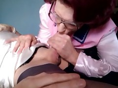 Wanda Nylons wakes up her sissy friend