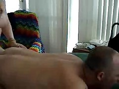 Amateur Shemale Fucks and Cums in Guys Mouth ONE