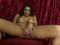 Jessy Tugs On Her Cock
