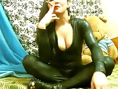 asian smoking catsuit TV