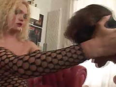 Sexy Blonde TS Domination